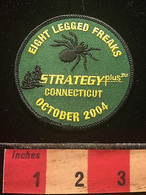 Spider Patch ~ Eight Legged Freaks Connecticut StrategyPlus Patch 60WA