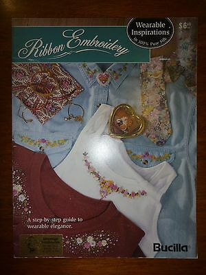 Bucilla Silk Ribbon Embroidery Pattern Book- Wearable Inspirations