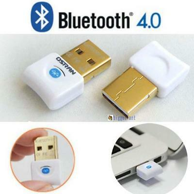 Mini USB 2.0 Bluetooth V4.0 Dongle Wireless Adapter For PC Laptop 3Mbps Speed ❁A