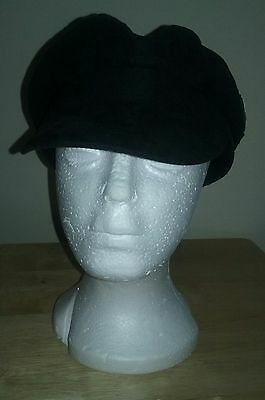 The Beatles Cadet Style Black Hat Size Small 2008