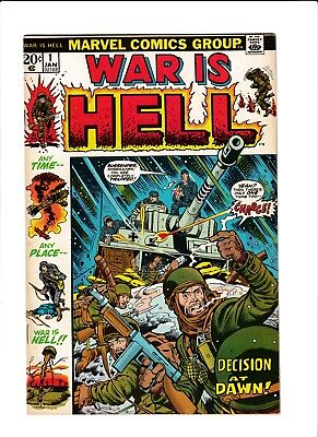 70s 20 cent Bronze Age Marvel War is Hell 1 #1 War Comic Key Issue