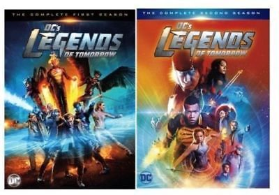 DC's Legends of Tomorrow: The Complete Series - Seasons 1-2 (DVD Set) NEW