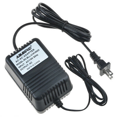 AC//AC Adapter for ALESIS MMT-8 SEQUENCER RECORDER Power Supply Charger Mains PSU