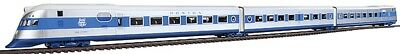 """Con-Cor - New Haven """"Comet"""" Powered 3-Car Streamlined Train -- 1935 Scheme - HO"""