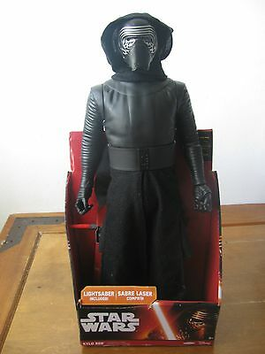 "Star Wars The Force Awakens ""Kylo Ren"" Action Figure - 18"" Inches Tall - Ages 3+"