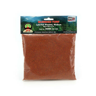 JTT Scenery Products-Medium Blended Turf, Late Fall