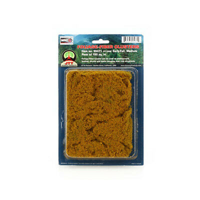 JTT Scenery Products-Medium Foliage-Fiber Cluster, Early Fall