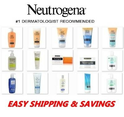 Neutrogena Skin Care Products : SCRUBS & CLEANSERS : FREE WORLD SHIPPING!!