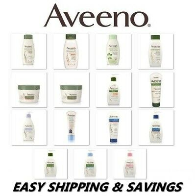 Aveeno Skin Care products : Lotion, Washes, Body Yogurts : EASY SHIPPING!!