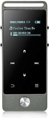 AGPtEK M20 8GB metal Lossless Sound Digital Music Player, With Screen Touch up
