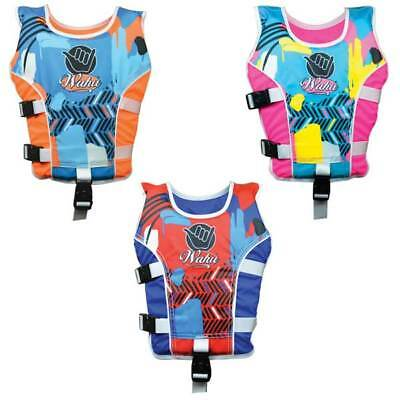 New Wahu Swim Vest Size Medium 15-25kg Age 4-5yrs Swimming Aid Vest BMA1035