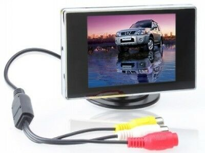 BW 3.5 TFT LCD Car Rear View Color Camera Monitor and amp; DVD, 3.5 Inch LCD C