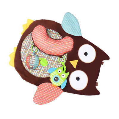 Kids Toddler Owl Blanket Baby Crawl Mat Thick Cute Blanket Game Pad Floor Carpet