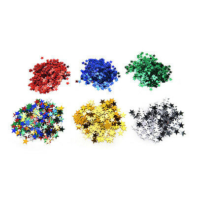 Wedding Sparkle Scatter Stars Table Confetti Foil Birthday Party Decor 5t