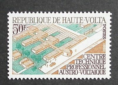 Upper Volta (1970) Technical College / Architecture / Buildings - Mint (MNH)