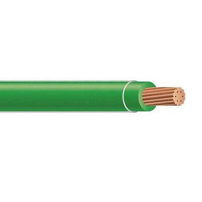 500' 8 AWG THHN THWN Stranded Copper Building Wire 600V Green