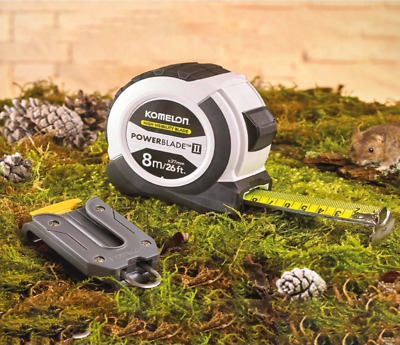 KOMELON Powerble II  Measuring Tape 8m / 26ft With Clip XMS17PROTAPE