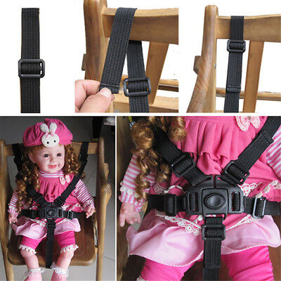 Kids 5 Point Safety Harness Stroller Baby High Chair Pram Buggy Car Belt Strap