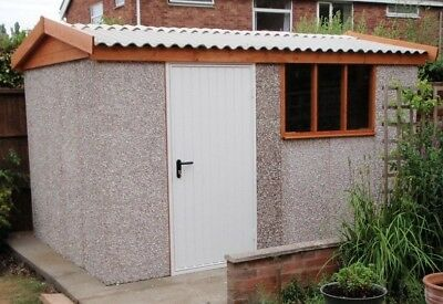 Concrete Apex Shed / Workshop Delivered And Fitted Yorkshire Area And More