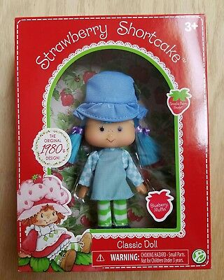 Strawberry Shortcake Classic Special Edition Doll New 80s Retro Blueberry Muffin