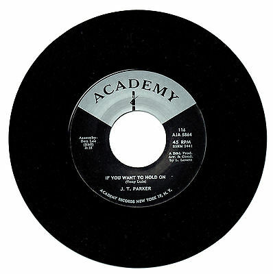 J.T. Parker - If You Want To Hold On - Northern Vinyl 45