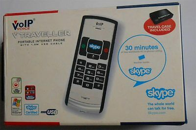 VoipVoice V Traveller VOIP And Skype Compatible Internet Phone...