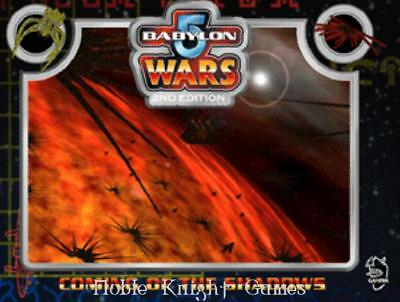 Agents of Gaming Babylon 5 Wars Coming of the Shadows SC NM-
