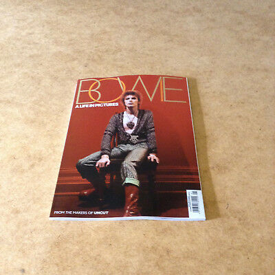 Bowie A Life In Pictures From The Makers Of Uncut David Bowie Tribute 98-Pages