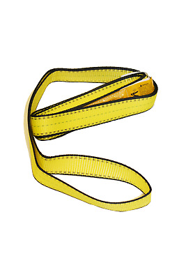 "1"" x 4' Polyester Web Lifting Sling Tow Strap 1 Ply EE1-901 Eye & Eye"