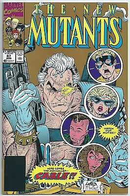 **the New Mutants #87**(Mar 1990 Marvel)**1St App Of Cable!**hot Key Issue**nm**