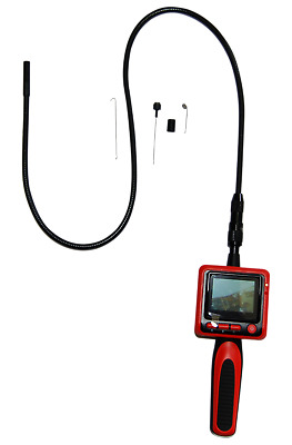 "Vividia V8805 9mm 2.4"" LCD Portable Semi-Rigid Inspection Camera Borescope"