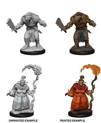 BUGBEARS - DUNGEONS & DRAGONS PATHFINDER UNPAINTED 2 x 25MM MINIATURES