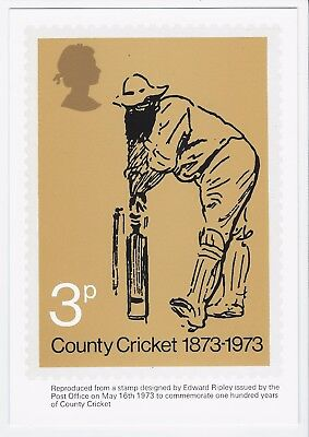 Gb Rare Phq Post Card No 1 - W. G.  Grace - 1973 Superb Mint Unused Condition