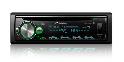 Pioneer 1-DIN Car Stereo CD Player Receiver w/ Bluetooth USB AUX