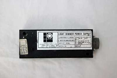 Modulo di controllo Light Dimmer Power Supply, Agusta PN:209-075-3871 **Usato**