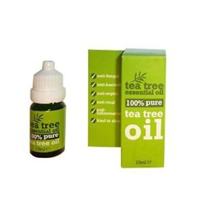 10ml Bottle 100 % Pure Tea Tree Essential Oil 10ml Antiseptic Anti Fungal
