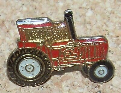 red farm tractor lapel / hat pin