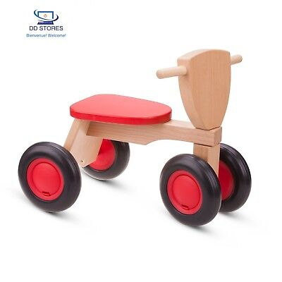 New Classic Toys - 11420 - Tricycle - Bois De Hêtre - Road Star - Rouge