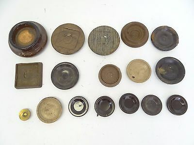 Mixed Antique & Vintage Lot Table Leg Chair Furniture Floor Protector Coasters