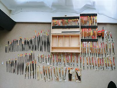 Huge Very Rare Collection of Vintage Auger Nevamiss Fishing Floats!