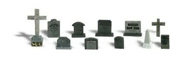 Woodland Scenics - Tombstones (N scale)  - A2164