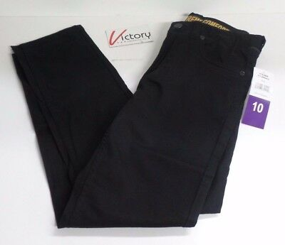 NEW Lee Youth Boys Straight Fit XTreme Comfort Stretch Black Jeans Pants Size 10
