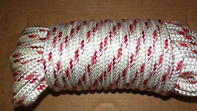 "7/16"" (11mm) x 86' Double Braid Sail/Halyard Line, Jibsheets, Boat Rope -NEW"