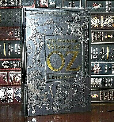 Wonderful Wizard of Oz by Frank Baum New Deluxe Illustrated Hardcover Gift