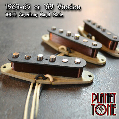 Planet Tone American USA Hand Made 60s Pickup for Fender Stratocaster Alnico V