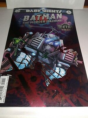 Batman The Murder Machine 1 Foil Stamp Cover Nm Metal Tie In😲sold Out!! Free Sh