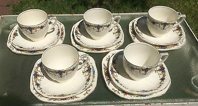 Vintage Alfred Meakin Art Deco China Tea Set