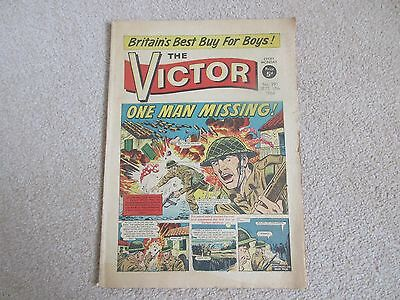 THE VICTOR COMIC No 291 -  SEPT 17TH 1966 -  ONE MAN MISSING !
