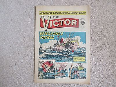 THE VICTOR COMIC No 258 -  JAN 29TH 1966 -  VENGEANCE PATROL