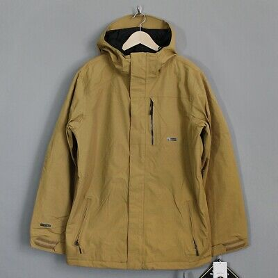 Volcom Insulated Gore-Tex Snow Jacket Brown